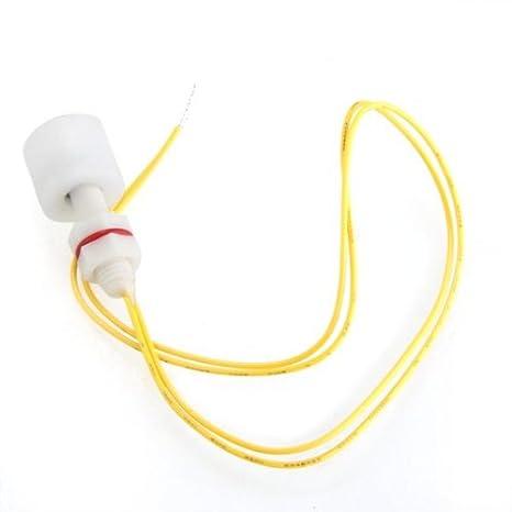 hsy® Líquido Agua sensor de nivel de flotador horizontal Interruptor Nuevo: Amazon.es: Electrónica