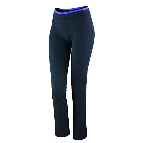 Spiro - Pantalón deportivo - recta - para mujer Black / Lavender