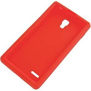 Silicone Skin Cover For Lg Optimus L9 P769, Red