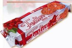 Voortman Red Festive Cookies 10 6oz Bag Pack Of 4