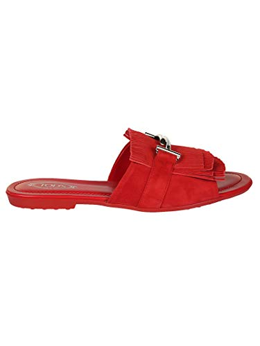 Leather Women's Sandals Tod's Xxw00v0y460hr0r401 Red PB8xvnq