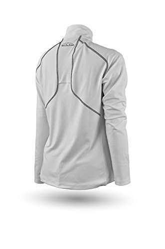 Sun Mountain Second Layer Golf Pullover 2016 Womens White Large by Sun Mountain (Image #1)