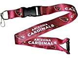 NFL Arizona Cardinals Team Color Lanyard, 22-inches, Burgundy
