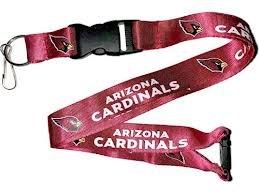 NFL Arizona Cardinals Team Color Lanyard, 22-inches, Burgundy