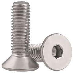 4-40 X 1 Socket Head Cap Screws 316 Stainless Steel Package Qty 100