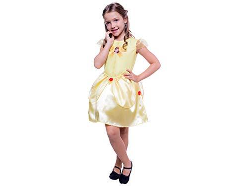 Fantasia Princesa Bela M - Pacote Com 1 Un Regina Colorido
