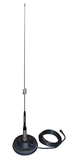 Black Box Magnetic Mount Antenna with Cable for Digital Mobile UHF Radio by Black Box