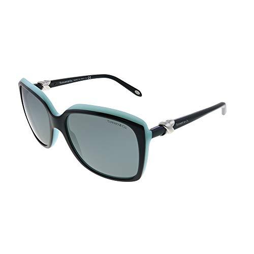 Tiffany 4076 80553F Black TF4076 Square Sunglasses Lens Category 2 Size - And Tiffany Co
