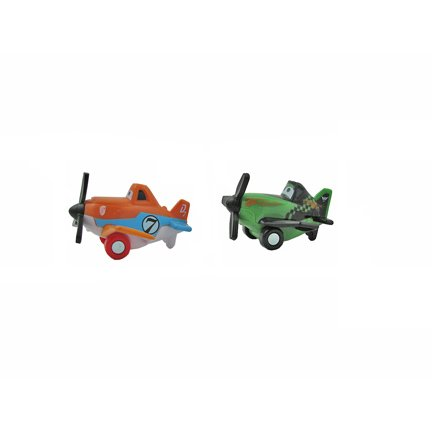 Disney Planes Spiral Air Race - Replacement Dusty Plane and Ripslinger Plane