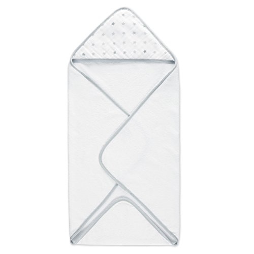 aden anais Hooded Towel Dove