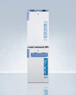 (Accucold FF511L-FS407LSTACKMED2 6.9 cu. ft. Combination Stacked All Refrigerator with Compact FS407LBIMED2 All Freezer)