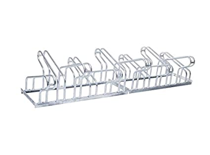 1-seitig verschwei/ßt Abmessungen Reihenparker Fahrradst/änder TOP 3-Stellpl/ätze L1050 x B550 x H415 mm