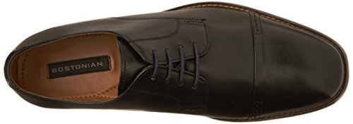 Bostonian Mens Narrate Cap Casual In Pelle Nera