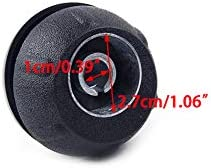 5 Speed Gear Shift Knob Cover Cap Kit Fit for Fiat 500 500c 2012 2013#55344048