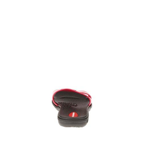 Okabashi Womens Wave Slide Sandals Black/Hot Pink tV6BgJf