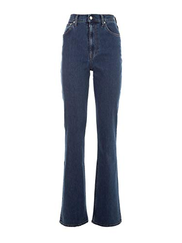 Helmut Algodon I09dw208uy2 Lang Jeans Azul Mujer Fwq6OF8H