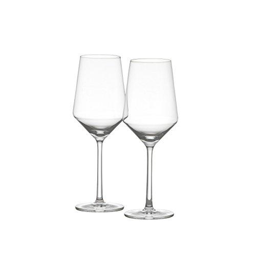 Schott Zwiesel Tritan Crystal Glass Stemware Pure Collection Sauvignon Blanc Wine Glass, 13.9-Ounce, Set of 2