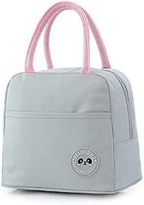 حقيبة الغداء المحمولة الحرارية معزول الغداء مربع حمل برودة حقيبة بينتو الحقيبة حاوية الغداء المدرسة حقائب تخزين الطعام