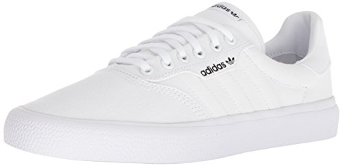 adidas Originals 3 MC Skate Shoe White/Gold Metallic, 7.5 M US ()