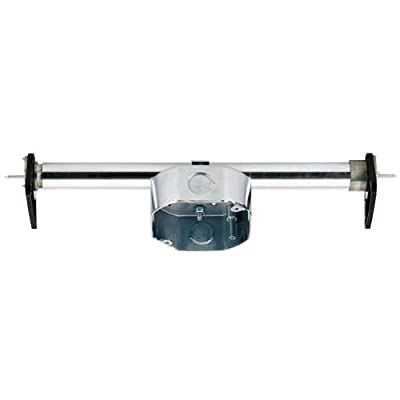 Westinghouse Lighting 0101000 Saf-T-Brace for Ceiling Fans, 4 Teeth with Locking Screw