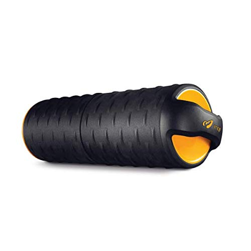 Moji Heated Foam Roller - Great for Running, Yoga, Crossfit, and More - 30+ Minutes of Effective Heat Therapy and Muscle Relief - Firm by Design - Microwavable (Best Large Heated Rollers)
