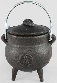 Cast Iron Cauldron: 2 3/4