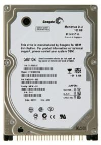 Seagate ST910021A Seagate Momentus 7200.1 100GB 7.2K 2.5-inch IDE Hard Drive ST910