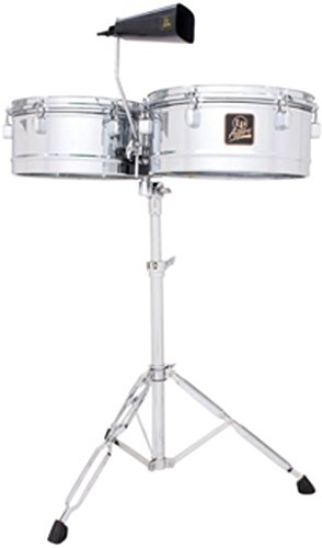 Latin Percussion LPA256 Aspire Series 13'' & 14'' Timbale Set with Cowbell by Latin Percussion