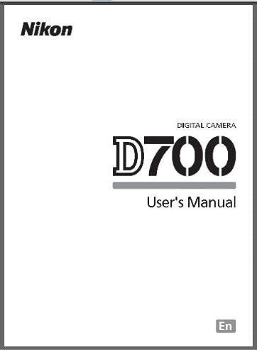 nikon d700 digital camera user s instructions manual nikon rh amazon com nikon d300 user manual nikon d800 user manual