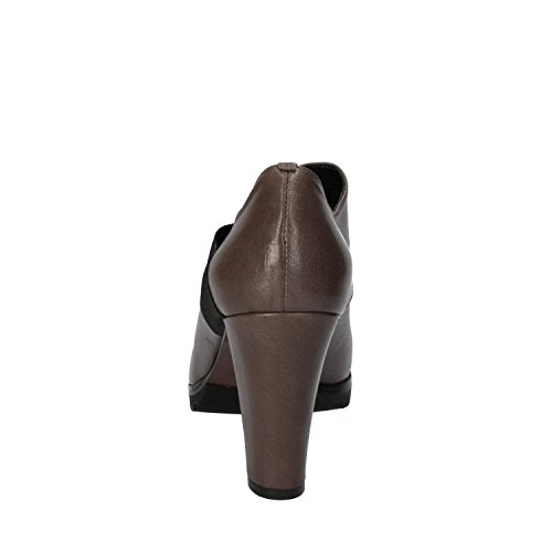 Leather 39 Suede 6 AE607 Gray CALPIERRE Woman Pumps UK EU n6BRqfSc0