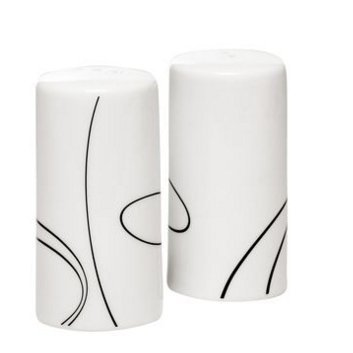 Corelle Simple Lines Salt and Pepper Shakers