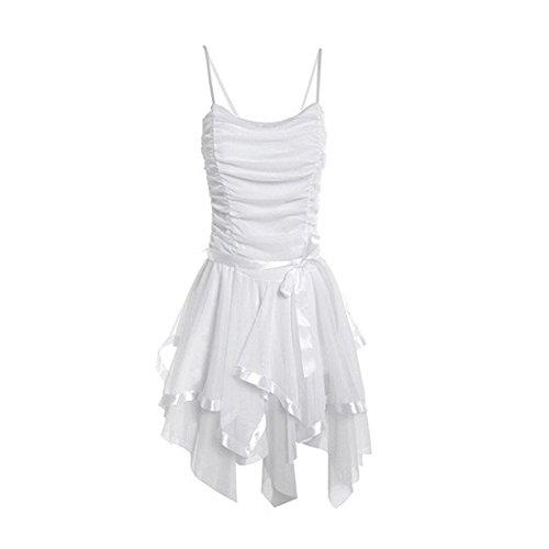 Momo Fashions - Vestito - Donna White