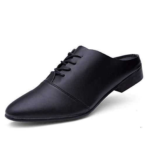 Super Mens Nero da Formality scarpe confortevole Slip Mocassini formali Color Ofgcfbvxd Calzature Casual 40 da Dimensione lavoro Nero mezzo On leggero scamosciato Oxford passeggio leggere EU 51Ya0q