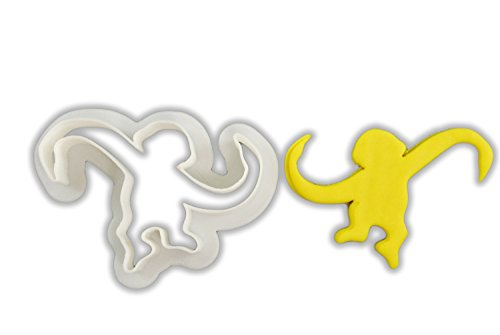 - Barrel Monkey Cookie Cutter - LARGE - 4 Inches