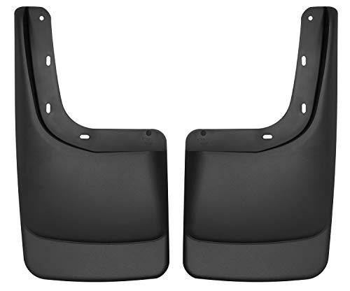Husky Liners Rear Mud Guards Fits 04-14 F150 WITH OEM Fender Flares and WITH running boards