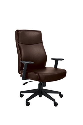S Serta Style Amy Office Chair Old Chestnut Bonded Leather