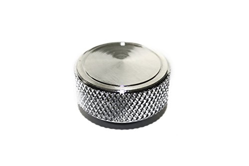Round Chrome Knurled Air Cleaner Filter Wing Nut 1/4