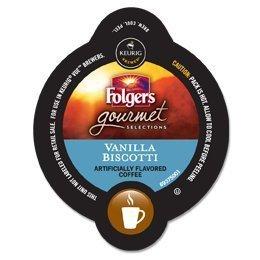 Folgers Vanilla Biscotti Keurig Brewers product image