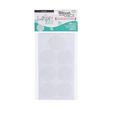 Anti-slip Bathtub Appliques Discs - Non Slip Stickers for Tubs and (Disc Applique)