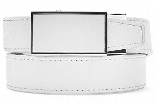 (Sleek Black Leather Golf Belt for Women with Automatic Buckle by Nexbelt)