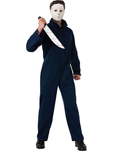 Rubie's Deluxe Halloween Michael Myers, Black, Standard Costume]()