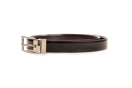 Club Room Men's Reversible Dress Belt, Black/Brown, 34 - Club Room Reversible Belt