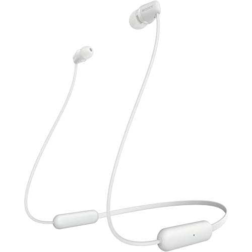 Sony WI-C200 Wireless Neck-Band Headphones with up to 15 Hours of Battery Life – White 2