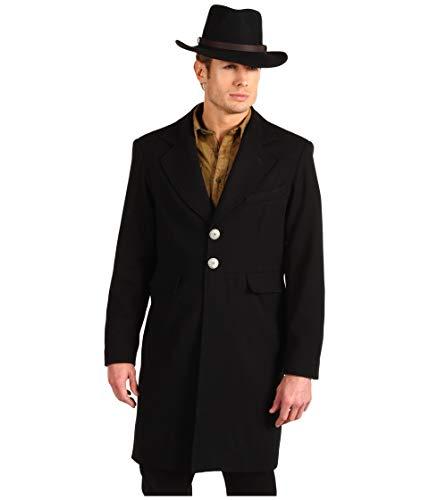 Wahmaker By Scully Men's Wool Frock Coat Black 42 (Wool Frock Coat)