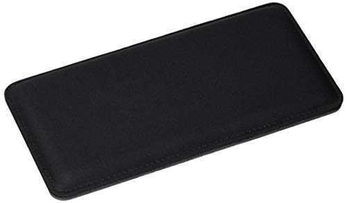 The Gamer Plug - Gaming Mouse Wrist Rest Pad - Black - Stitched Edges - 8