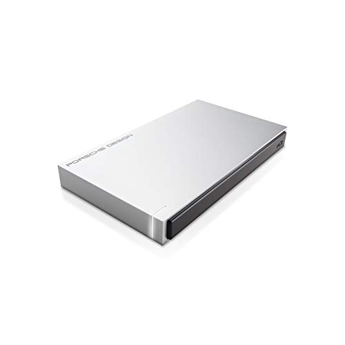 LaCie Porsche Design 2 TB USB 3.0 Portable 2.5 inch External Hard Drive for PC and Mac - Light - Mac Lacie Pc Hard Drive