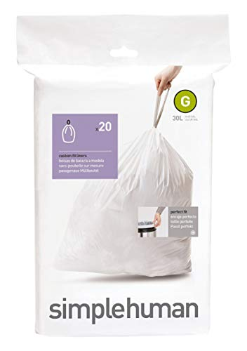 Simplehuman CW0166 Custom-Fit Can Liner G