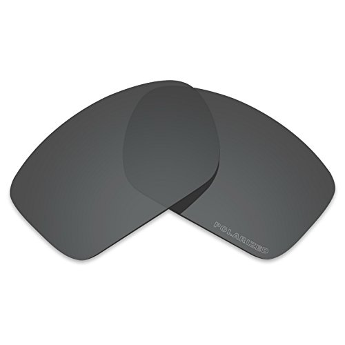 c91ee84f36 Amazon.com  Tintart Performance Lenses Compatible with Oakley Big Taco Polarized  Etched-Carbon Black  Clothing