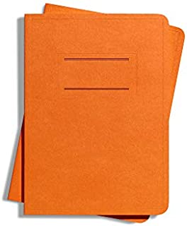 product image for Shinola Journal, Paper, Ruled, Orange (3.75x5.5): Pack of 2