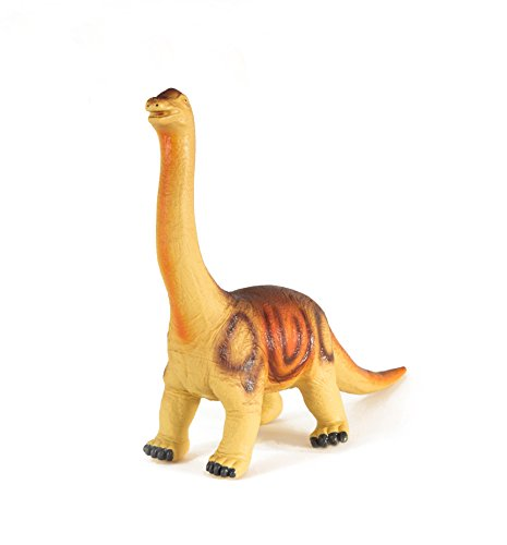 "Boley Jumbo 20"" Jurassic Brontosaurus Dinosaur Toy - Soft Educational Dinosaur Action Figure, designed for rough play!"